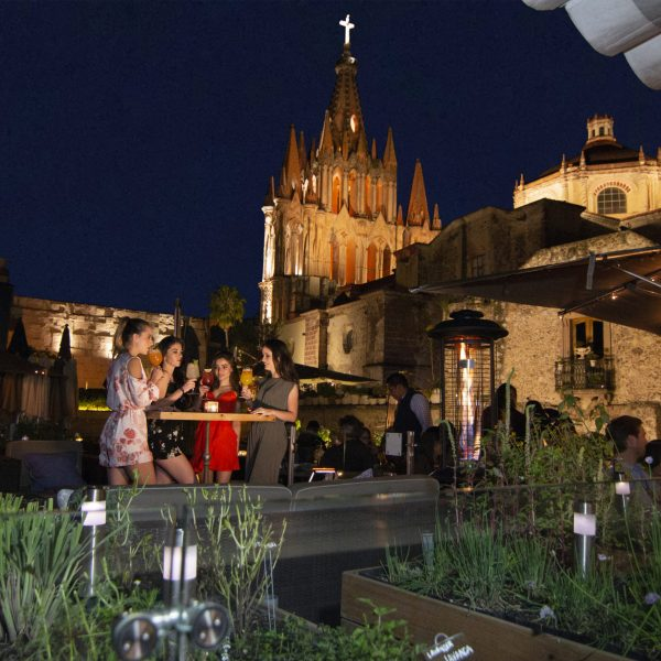 EAST PARROQUIA CENTER TERRACE AND STAGE